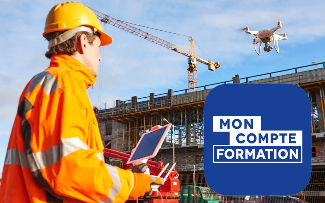 FORMATION CERTIFIANTE : Piloter un drone dans le secteur du BTP et du Génie Civil